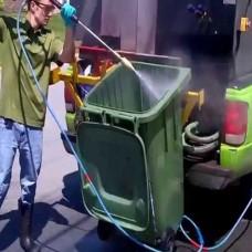 CONTAINER CLEANER & DISINFECT Çöp Konteyneri / Arabası Temizleyici ve Dezenfektan